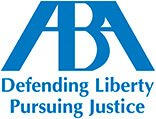 American Bar Association ABA logo defending liberty persuing justice