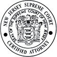 New Jersey Supreme Court Certified Criminal Defense Attorney logo