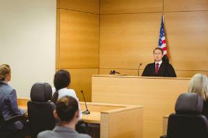 New jersey drug defense attorney awaits judge's verdict.